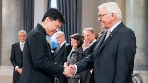 """Chinesischer Botschafter warnt vor """"erhobenem Zeigefinger"""""""