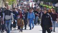 Flüchtlinge kritisieren EU-Türkei-Abkommen