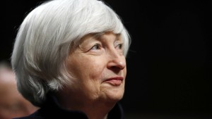 Scheidende Fed-Chefin geht zu Washingtoner Denkschmiede