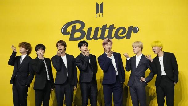 BTS greift nach weiteren Sternen im Popstarhimmel