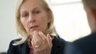 Chefsache: Sollte sie gewinnen, will sich Bernadette Weyland um die wichtigsten Themen persönlich kümmern.