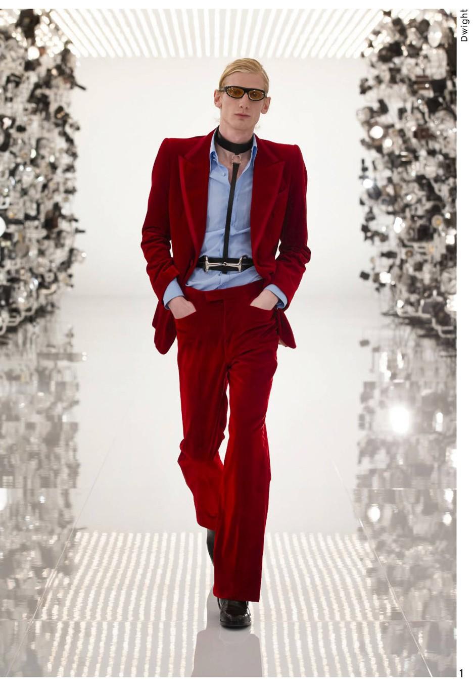 Bunt: die Gucci-Kollektion für Männer