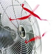 Ob Vintage-Modell oder neu, das Prinzip eines Ventilators bleibt gleich.
