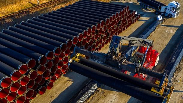 Wintershall setzt unbeirrt auf Nord Stream 2