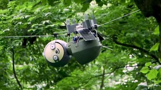 Roboter-Faultier sammelt Umweltdaten