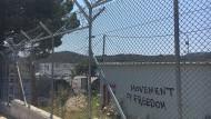 Das Flüchtlingscamp Moria auf der griechischen Insel Lesbos