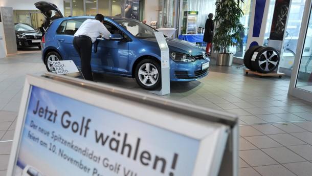 Verkaufsstart VW Golf 7