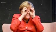 Auf Sicht: Kanzlerin Angela Merkel