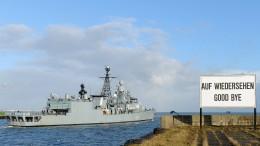 Deutschland schickt keine neuen Marine-Schiffe ins Mittelmeer
