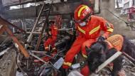 Mehr als hundert Verletzte: Mindestens 25 Tote nach Gasexplosion in China