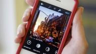 Wieder ganz schnell weg: Fotos bei Instagram