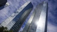 Ragt hoch in den Himmel: Das Hauptquartier der Deutschen Bank in Frankfurt
