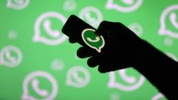 Whatsapp begrenzt das Weiterleiten von Nachrichten