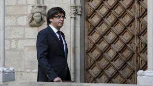 Gericht blockiert Wahl Puigdemonts