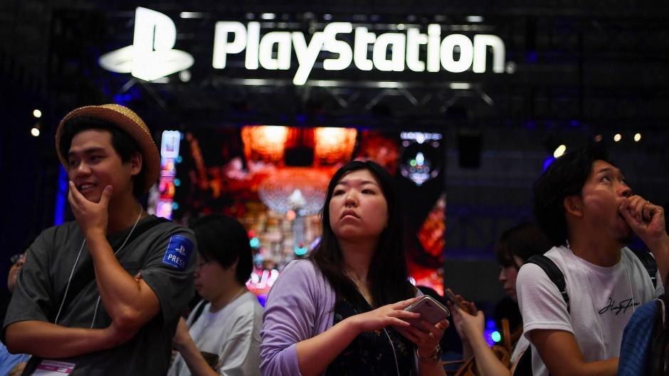 Der Elektronikkonzern Sony kommt aus Japan. Das Foto stammt von 2019 und zeigt die Tokio Spiele-Show