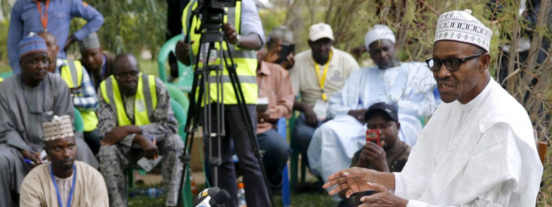 Deutlicher Vorsprung für Oppositionsführer Buhari
