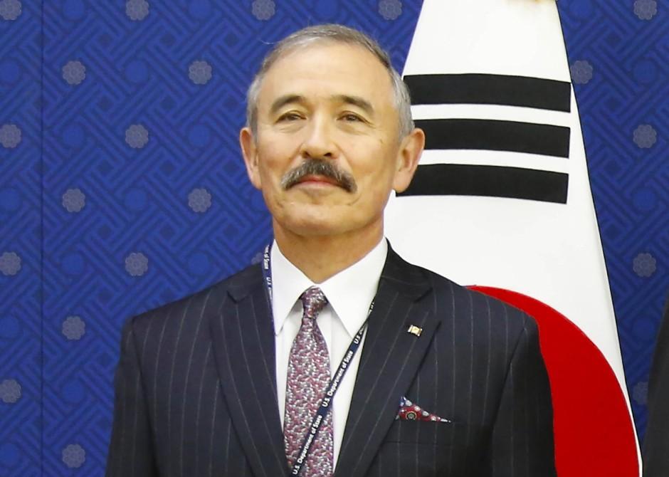 Will eine Arbeitsgruppe für die Tourismus-Frage: der amerikanische Botschafter in Südkorea, Harry Harris