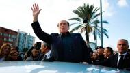 Auf Wahlkampftour durch Italien: Silvio Berlusconi