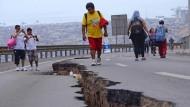 Nach dem Beben nun Entwarnung in Chile