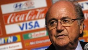 Blatter stellt sich gegen Top-Sponsoren