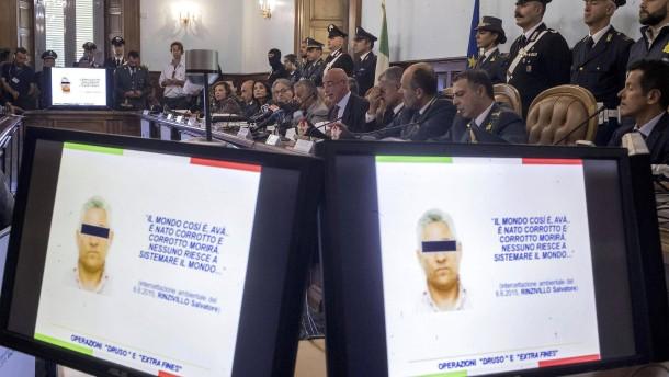 Schlag gegen Cosa Nostra und 'ndrangheta