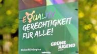 Ich bin dann mal Frau: Geschlechterpolitische Verwirrung bei den Grünen