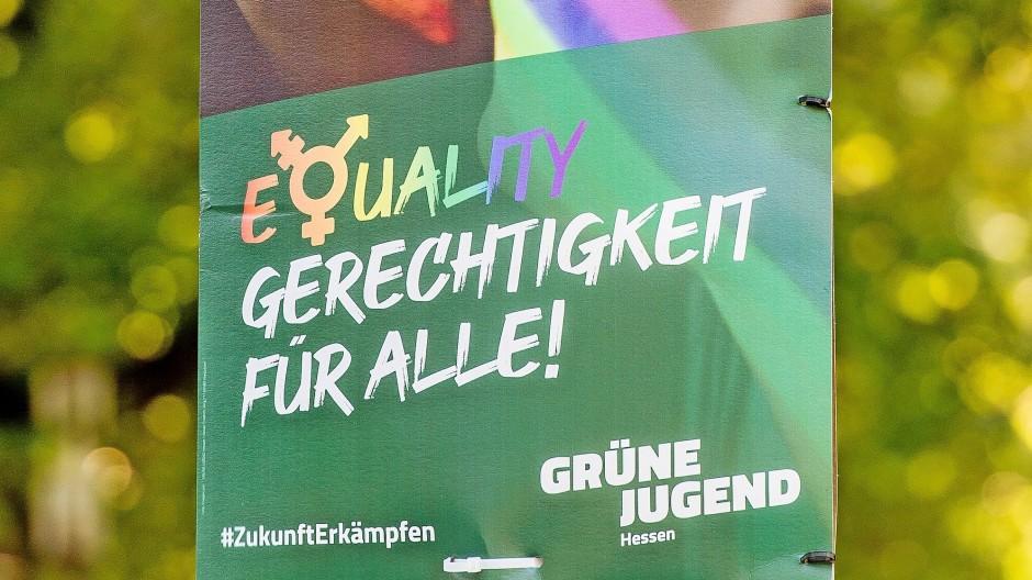 Vielfalt und Gleichheit, ein Widerspruch? Die Grünen werben für Geschlechterdiversität