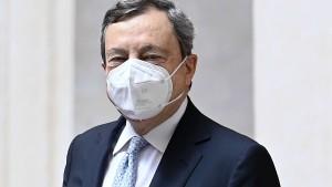 Mario Draghi verzichtet auf sein Regierungsgehalt