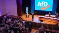 Fünfzig Seiten Höcke am Stück: Der AfD-Politiker nach seiner Wiederwahl als thüringischer Landesvorsitzender im Oktober