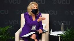 Jill Biden gibt Sängerin Kelly Clarkson Scheidungstipps