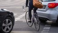 Radfahren in der Stadt – eine Herausforderung