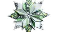 Origami aus 100-Euro-Scheinen