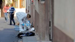 Sohn tötete wohl Mutter mit Schere – und griff dann Polizisten an