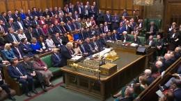 Britisches Parlament stimmt für Brexit-Gesetz