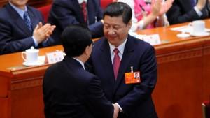 Volkskongress wählt Xi Jinping zum Präsidenten