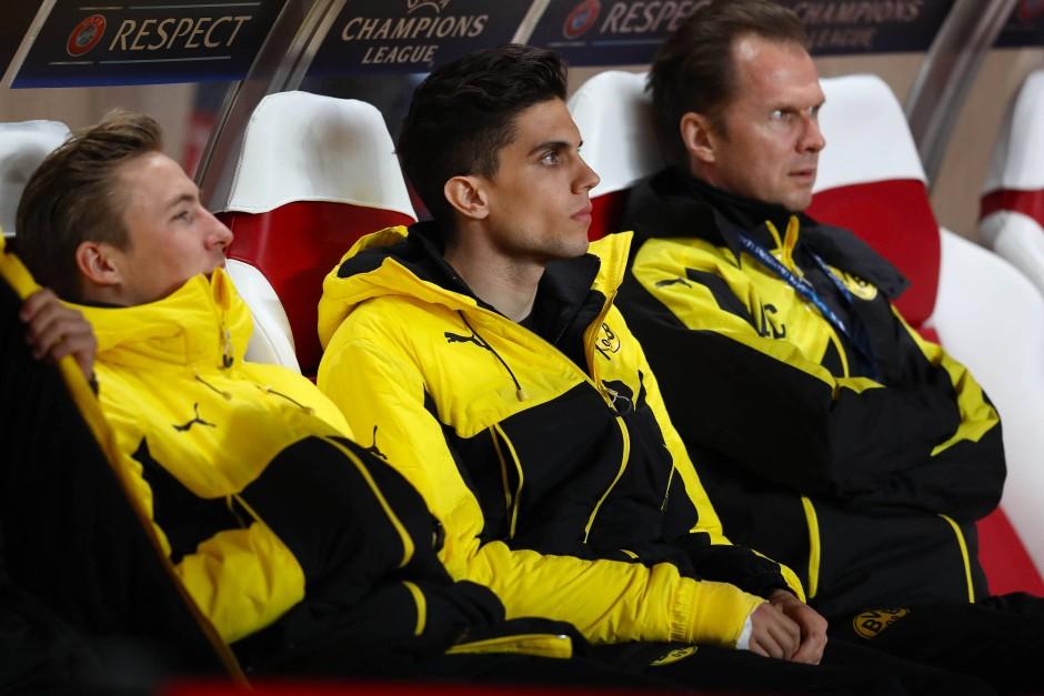 Marc Bartra wurde extra für das Rückspiel aus Dortmund eingeflogen.