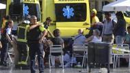 IS bekennt sich zu Anschlag in Barcelona mit mindestens 13 Toten