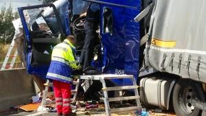 Drei Menschen sterben bei Massenkarambolage auf A7 bei Kassel