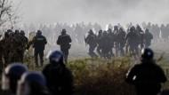 Mehrere Verletzte bei Demonstration in Frankreich