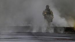 Giftige Gase zwingen zur Flucht