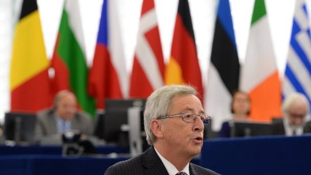 EU-Parlament wählt mit großer Mehrheit Juncker