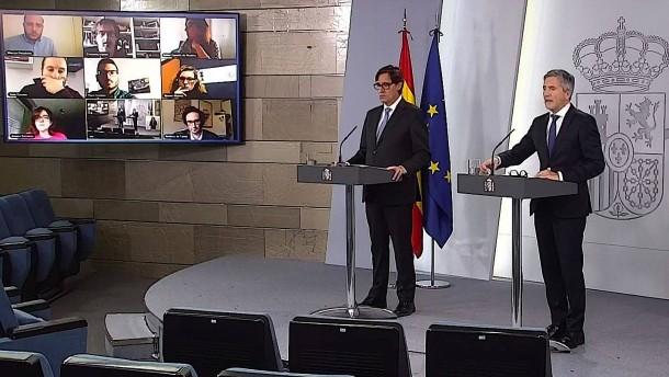 Spanien lockert Ausgangsbeschränkungen