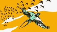 """Diese Vögel brüten auch im Granatenhagel: Stephen Moss' Buch """"Über die Schwalbe"""""""