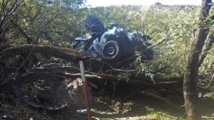 Verletzte Autofahrerin erst sechs Tage nach schwerem Unfall gerettet