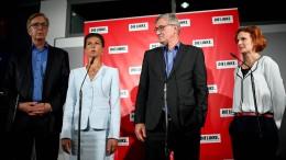 Wagenknecht und Bartsch als Fraktionsvorsitzende bestätigt