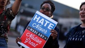 Heftige Kritik an Trump-Äußerungen aus allen Lagern