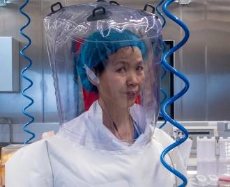 Shi Zhengli forschte in Wuhan an Coronaviren aus Fledermäusen.