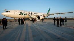 Italien unterstützt Fluglinie in Millionenhöhe