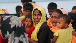 UN melden Massenvergewaltigungen von Rohingya-Frauen