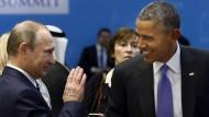 Sanktionen gegen Russland sollen bleiben